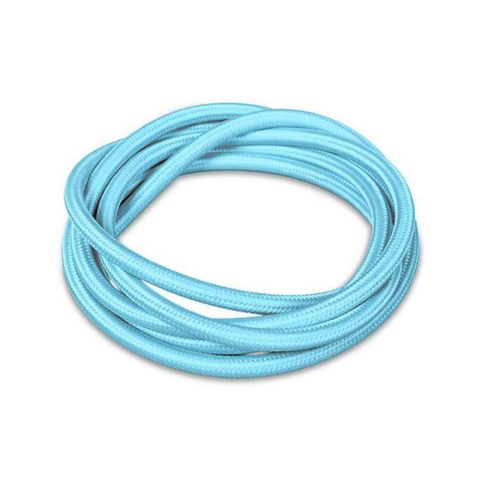 Textilkabel-1-Meter-hellblau