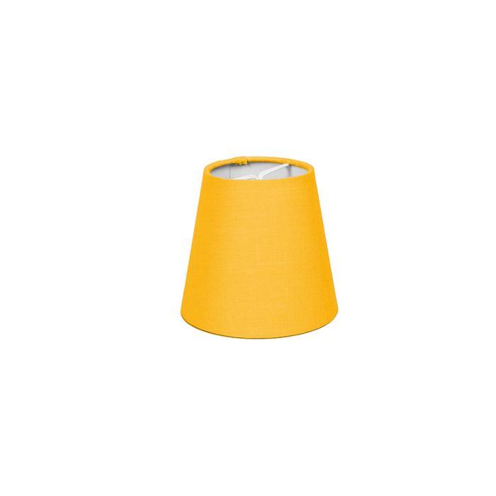 Clipverschluss-12-cm-rund-SC-gelb