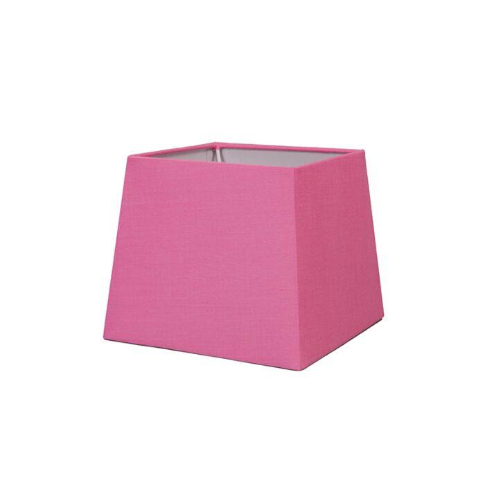 Kappe-18-cm-eckig-SD-E27-pink