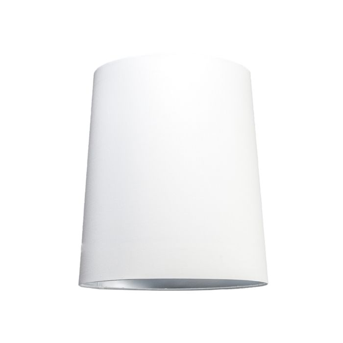 Haube-35cm-um-SU-E27-weiß-silber