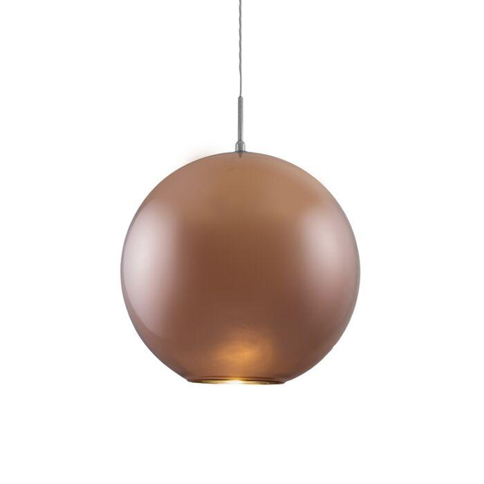 Hängelampe-Ball-40-Kupfer