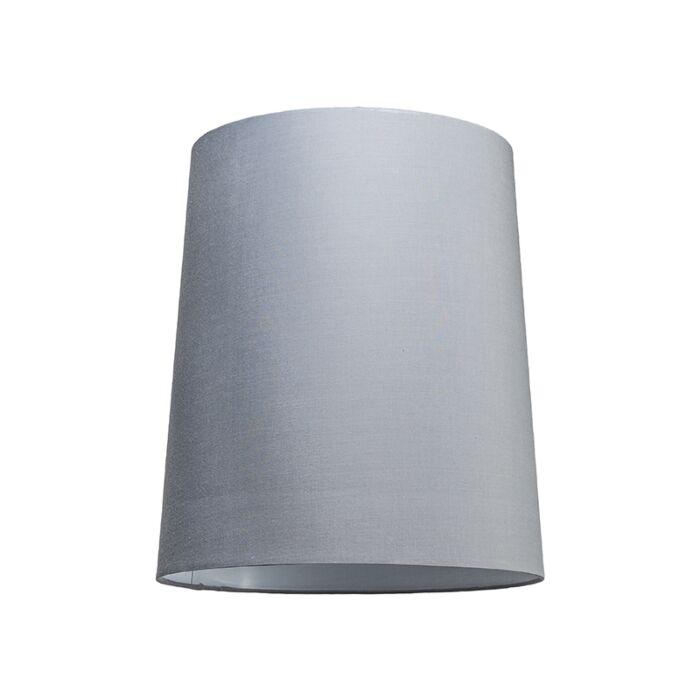 Haube-35cm-um-SU-E27-grau-weiß