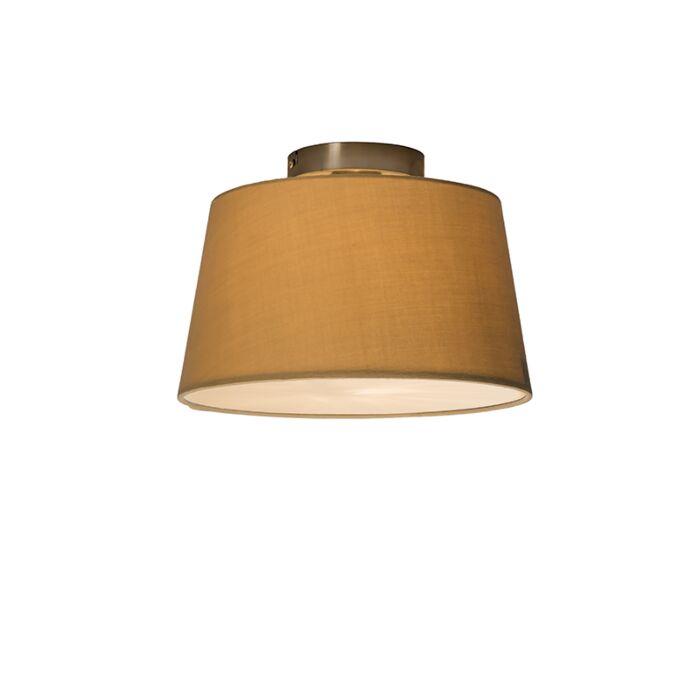 Deckenleuchte-Combi-30cm-beige-mit-Mixer