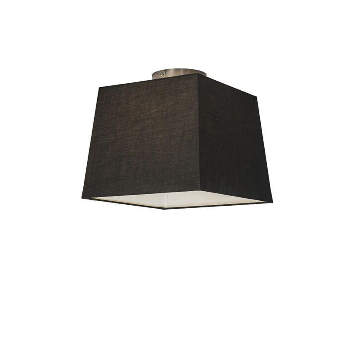 Deckenleuchte-Combi-30-cm-quadratisch-schwarz