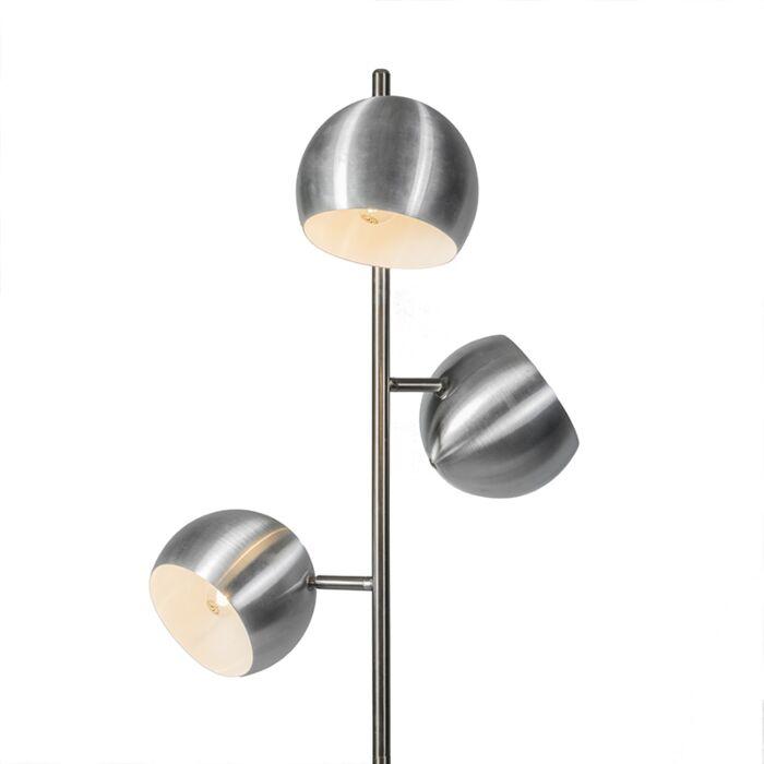 Stehleuchte-Orb-3-Stahl---leicht-beschädigt