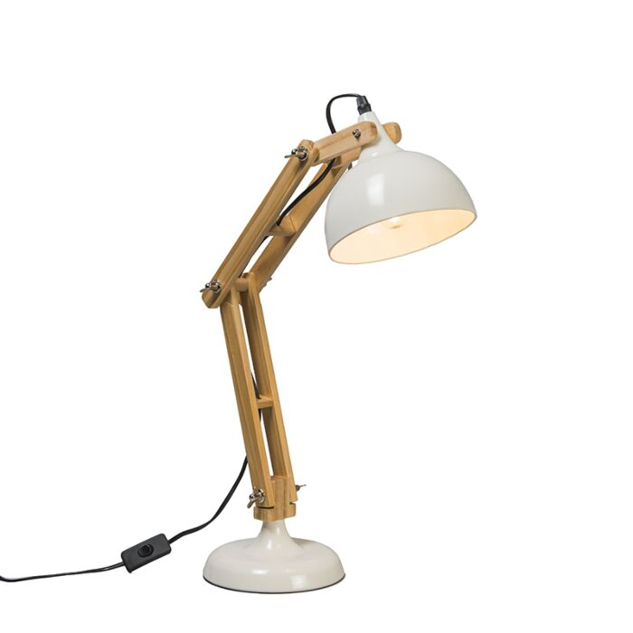 Bürotischlampe-weiß