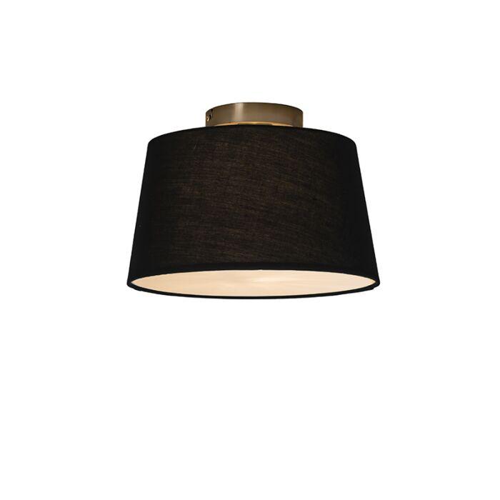 Deckenleuchte-Combi-30cm-schwarz-mit-Mixer