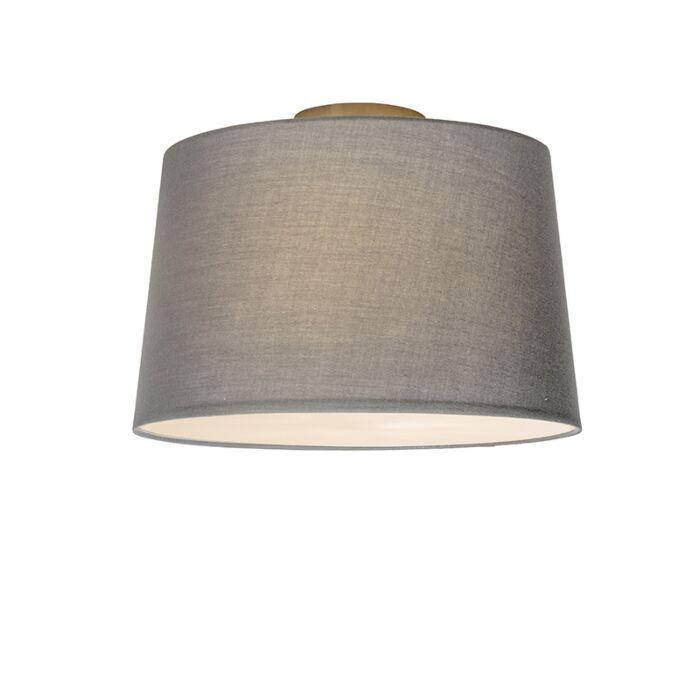 Deckenleuchte-Combi-40cm-grau-mit-Mixer