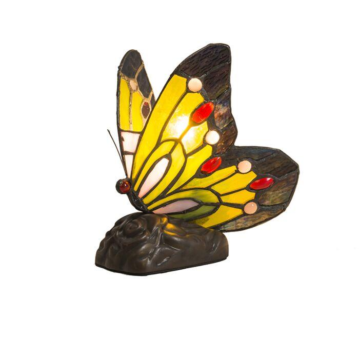 Tiffany-Butterfly-Tischleuchte