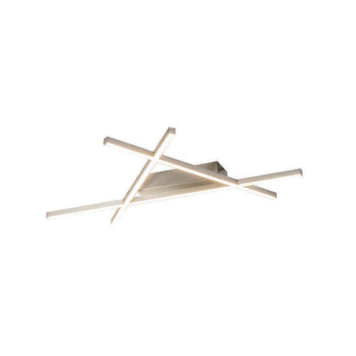 Design-Deckenleuchte-Stahl-inkl.-LED---Mikado-Triangle