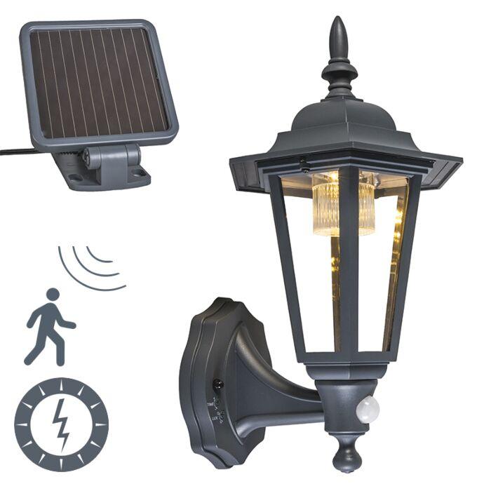Außenwandlaterne-Anthrazit-inkl.-LED-und-Solar---New-York