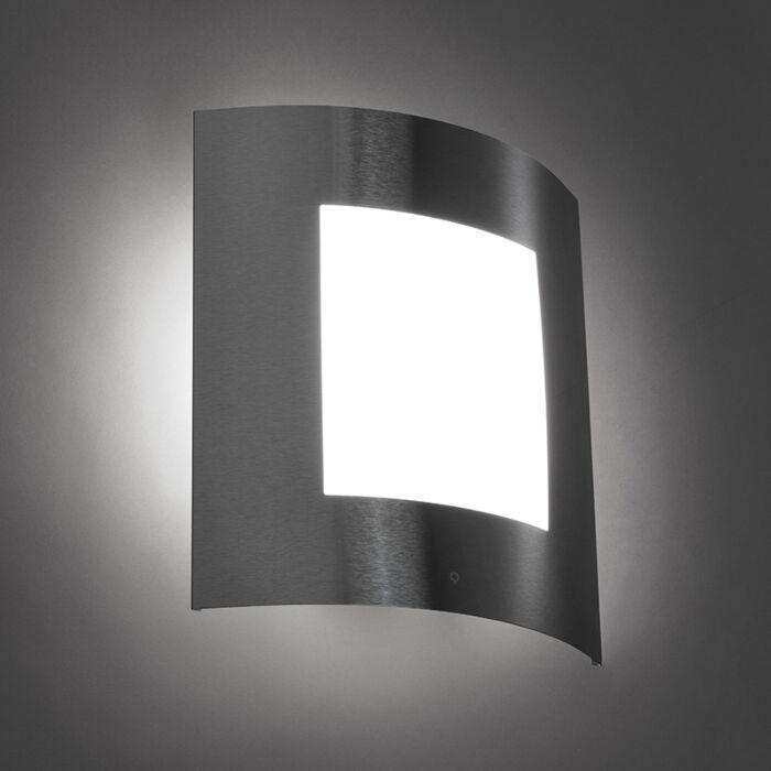 Moderne-Wandleuchte-Stahl-IP44---Emmerald-1