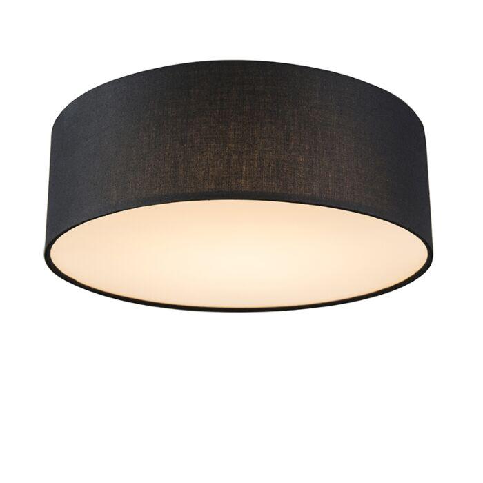 Deckenleuchte-schwarz-30-cm-inkl.-LED---Drum-LED