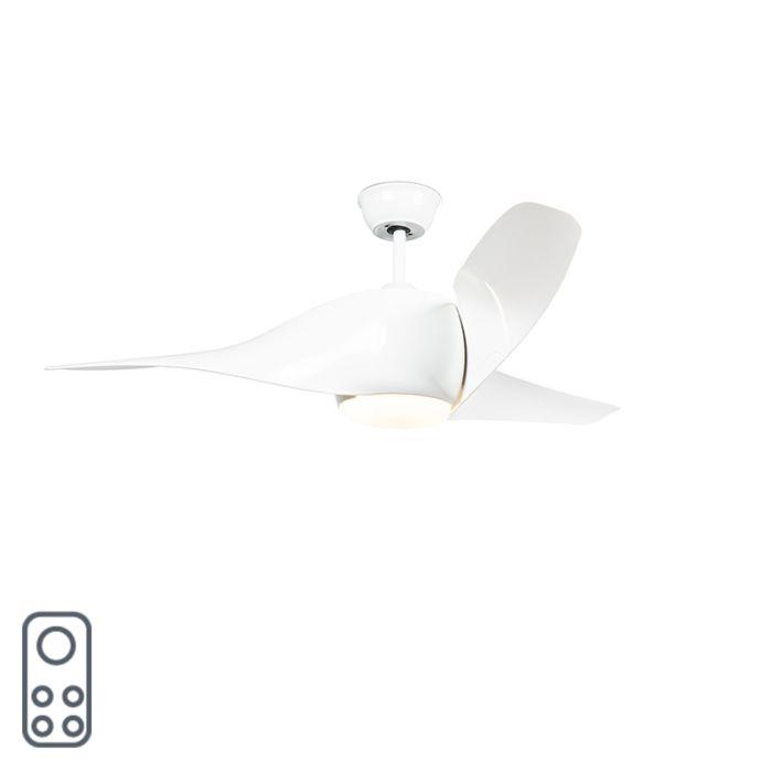 Deckenventilator-weiß-inkl.-LED-mit-Fernbedienung---Sirocco-50