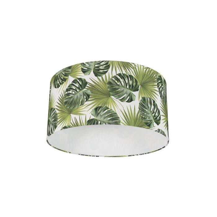 Lampenschirm-aus-Baumwolle-50/50/25---Leaf