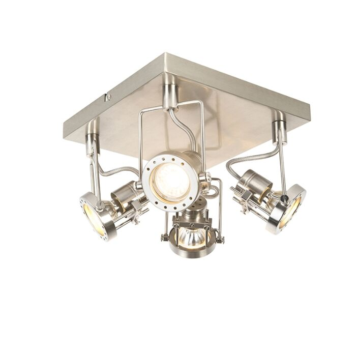 Industriestrahler-4-flammig-schwenkbar---Suplux