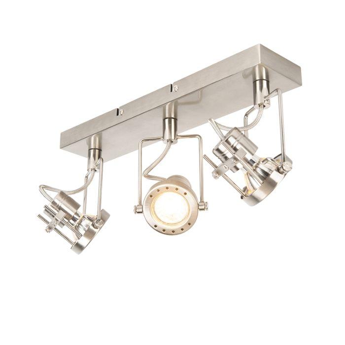 Industrieller-Spot-stahl-3-flammig-kippbar---Suplux