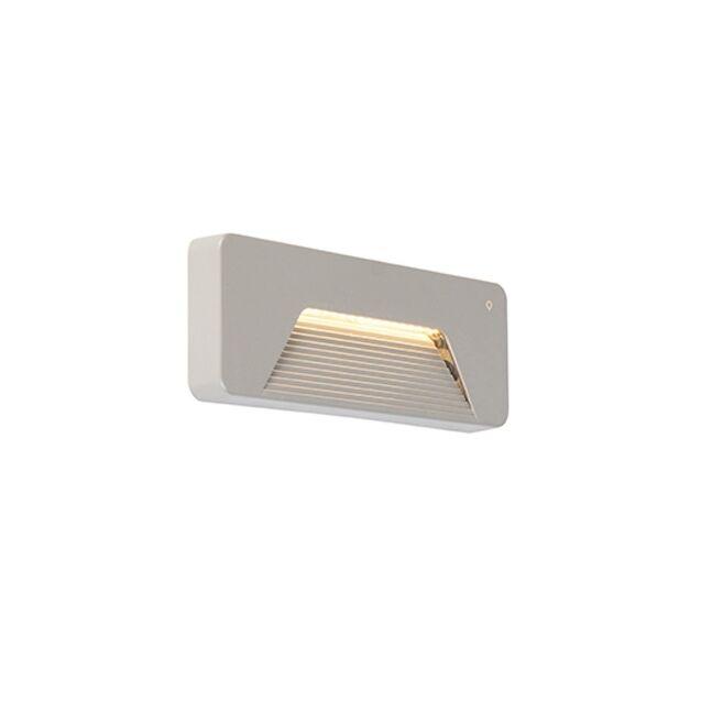 Moderne-Außenwandleuchte-rechteckig-inkl.-LED---Pod
