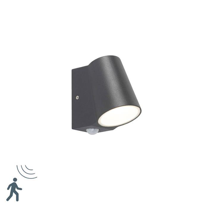 Außenleuchte-anthrazit-mit-Bewegungsmelder-inkl.-LED---Uma