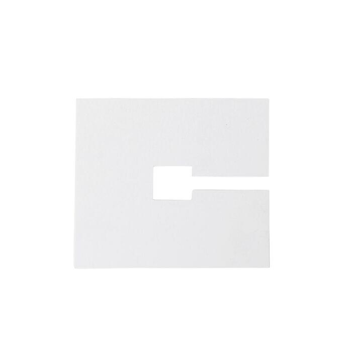 Quadratische-Abdeckplatte-10x10cm-weiß-RAL-9016