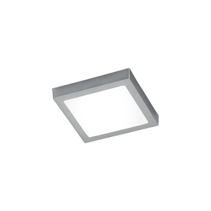Moderne-quadratische-Deckenleuchte-aus-Stahl-mit-Glas-inkl.-LED---Boy