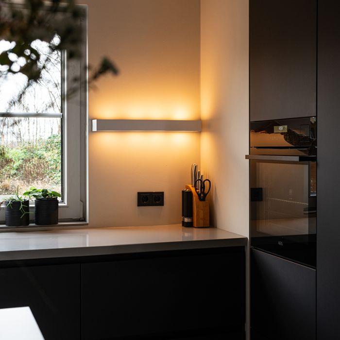Design-längliche-Wandleuchte-weiß-60-cm---Houx