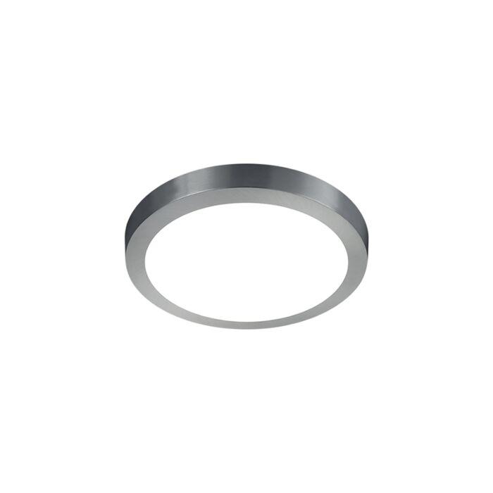 Moderne-runde-Deckenleuchte-aus-Stahl-mit-Glas-inkl.-LED---Boy