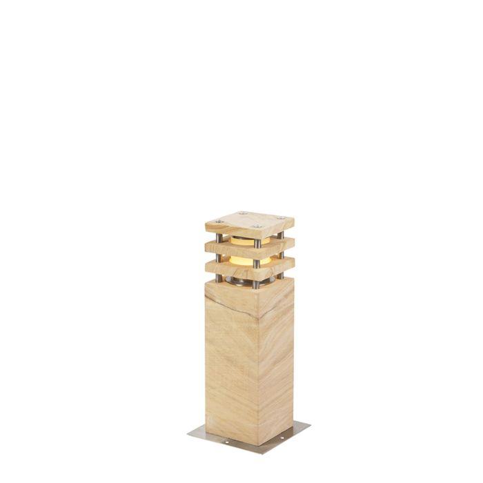 Moderne-Stehleuchte-beige-40-cm---Grumpy