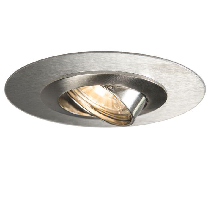 Kippbarer-Einbauspot-aus-Stahl-mit-Distanzring---Edu