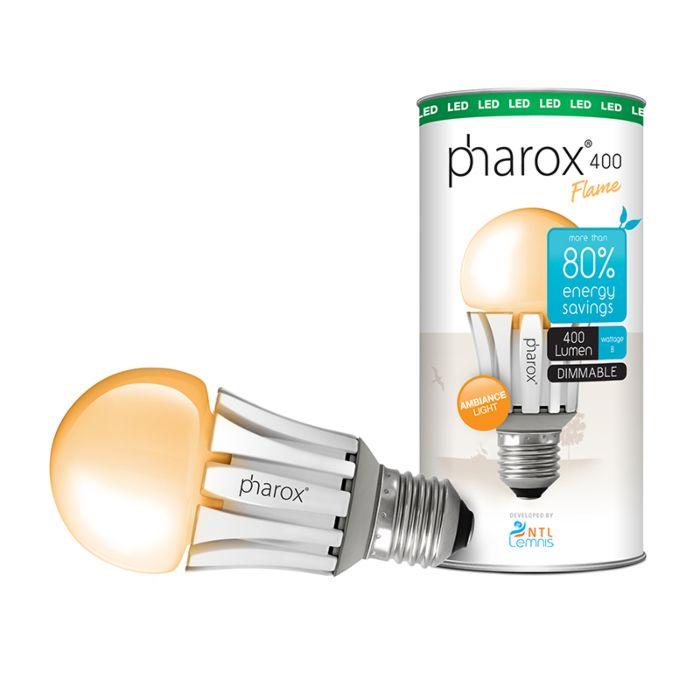 Pharox-LED-Leuchte-400-Flame-E27-8W