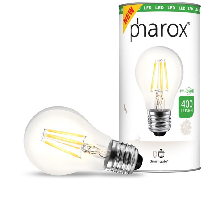 Pharox-LED-Lampe-klar-E27-4W-400-Lumen