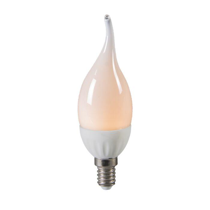 LED-Windstoß-Kerzenlampe-E14-3W-/-250-Lumen