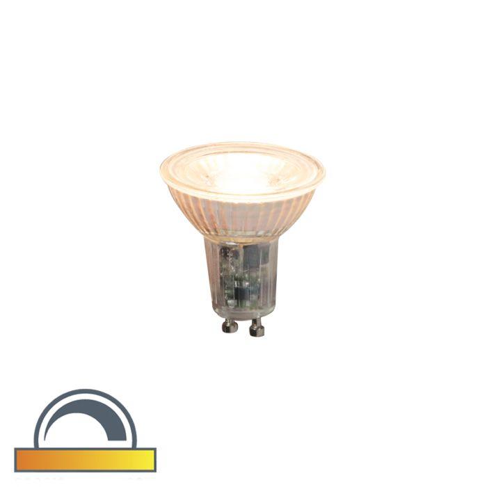 LED-Lampe-GU10-240V-5.5W-360lm-Dim-to-Warm