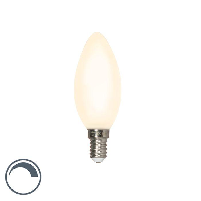 E14-dimmbare-LED-Kerzenlampe-matt-3.5W-300-lm-2700-K