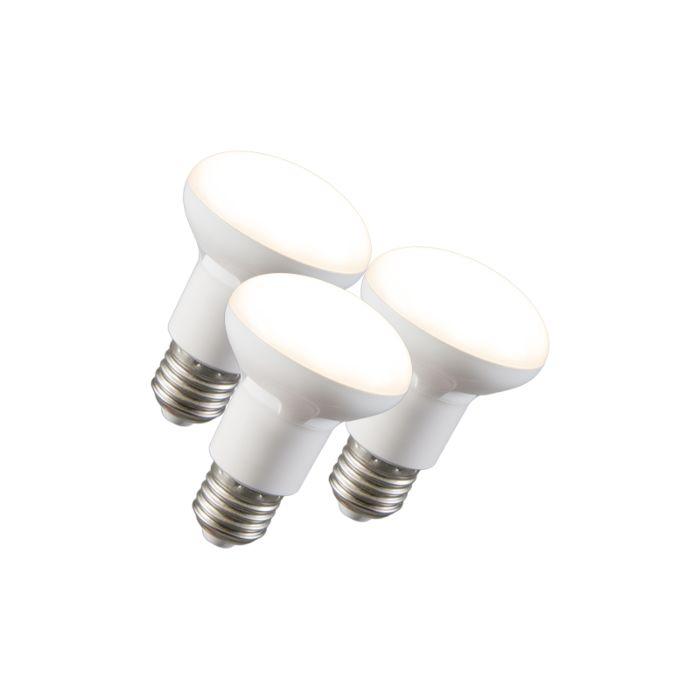 3er-Set-LED-Reflektorlampe-R63-E27-240V-8W-2700K-dimmbar