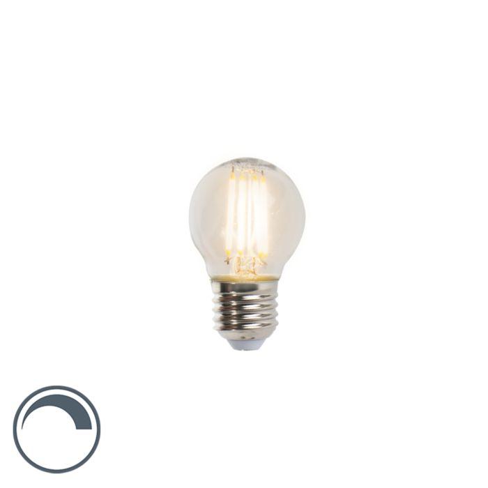 E27-dimbare-LED-filament-kogellamp-P45-5W-470-lm