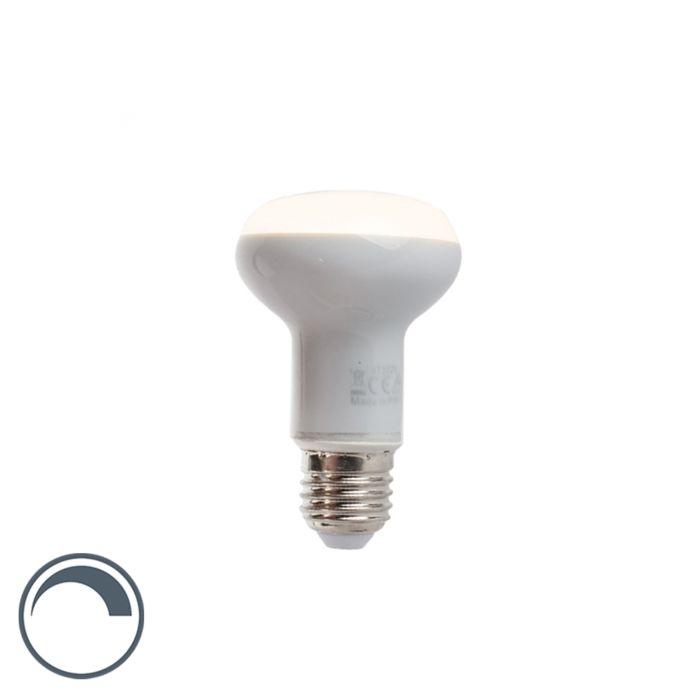 Dimmbare-LED-Reflektorlampe-E27-5W-370-Lumen-warmweiß-2900K-R63