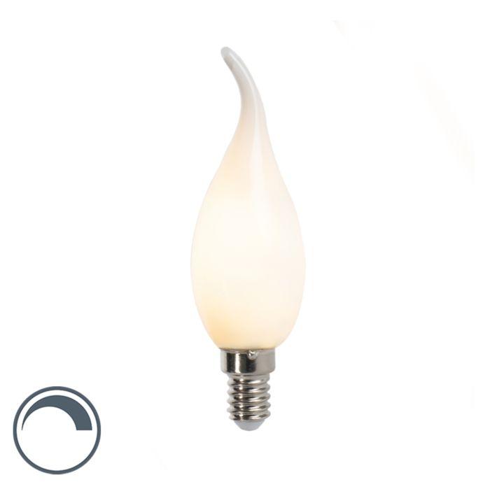 LED-Fadenkerzenlampe-E14-3W-250lm-F35-dimmbar-matt