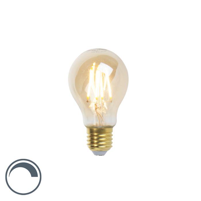D27-dimmbare-LED-Glühlampe-A60-Goldline-5W-360-lm-2200K