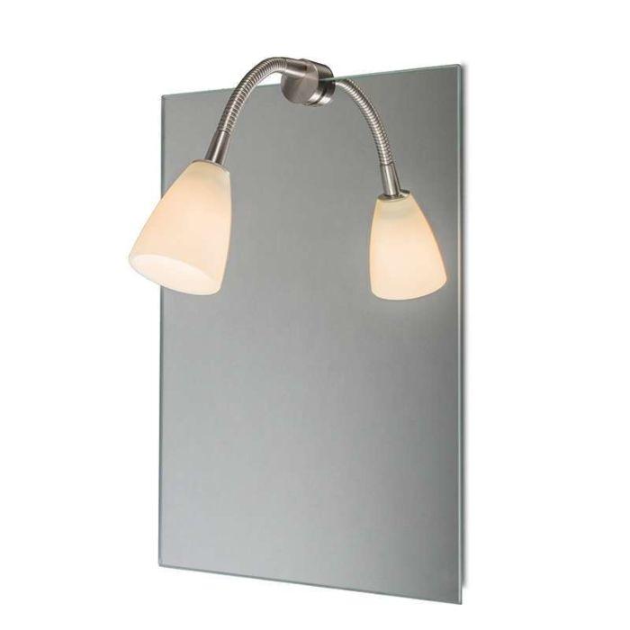 Spiegelbeleuchtung-Curvus-Stahl