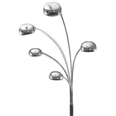 Bogenlampe-70er-Chrom