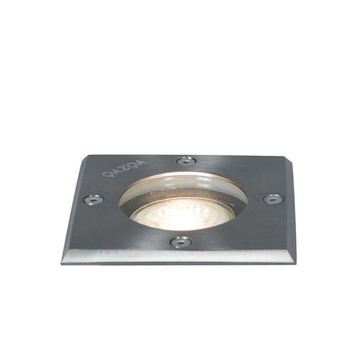 Gemahlener-Punktstahl-10,5-cm-IP65---Basic-Square