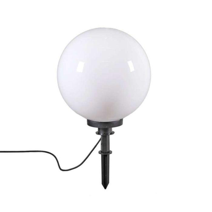 Moderne-Außenleuchte-mit-Erdungsstift-40-cm-IP44---Glühlampe