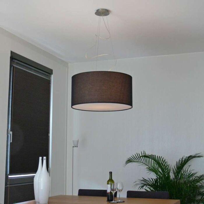 Drum-Lampe-60-schwarz