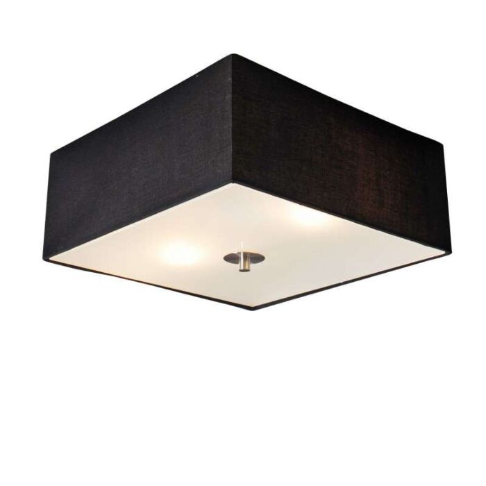 Deckenleuchte-Drum-35-quadratisch-schwarz
