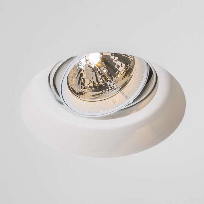 Einbaustrahler-Gipsy-Zero-round-I-G53-AR111