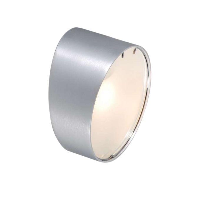 Wandleuchte-Telefon-um-Aluminium
