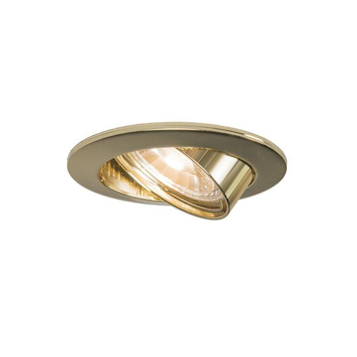 Runder-Einbauspot-in-Gold---Edu