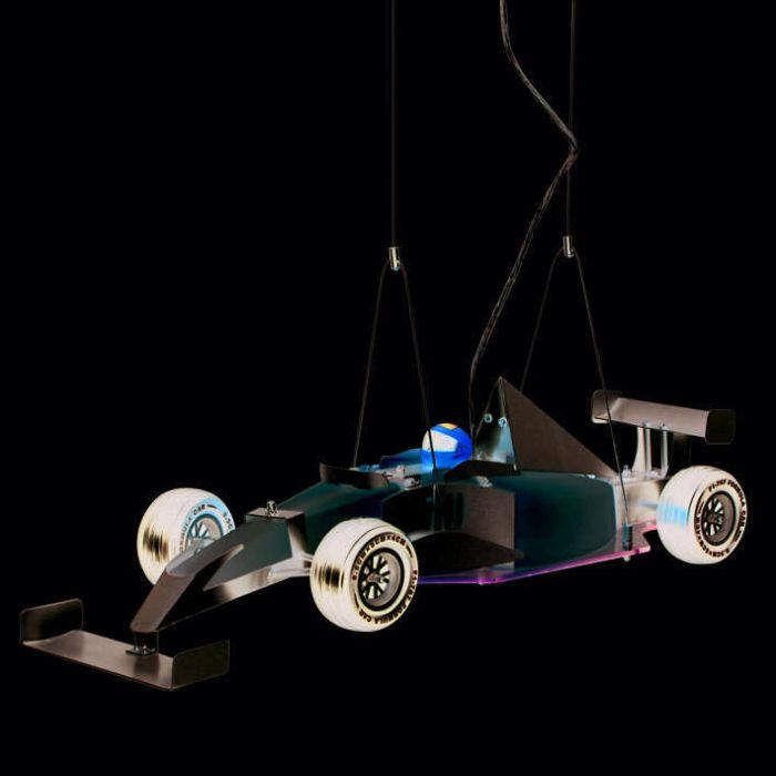 Kinder-Formel-1-Auto-Hängelampe