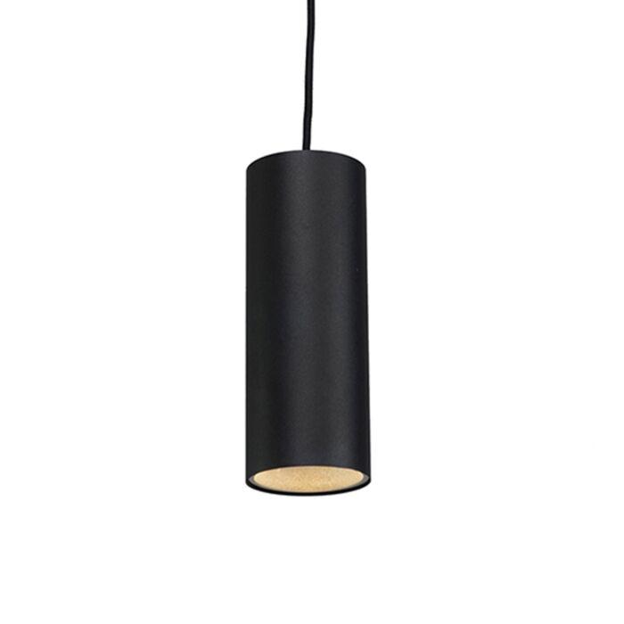 Design-Hängelampe-schwarz---Tubo